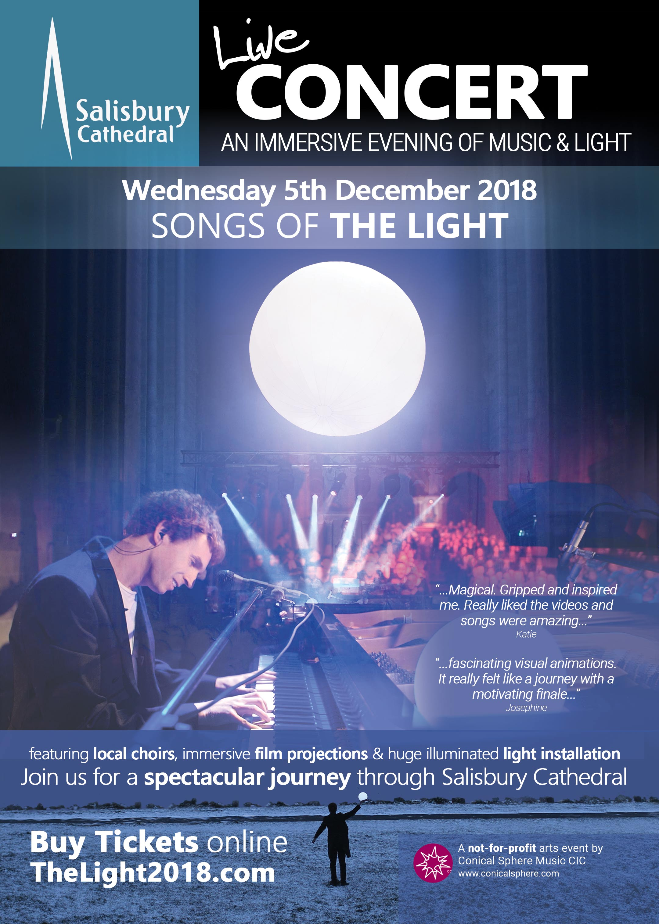 Event Tickets - Songs Of The Light 2018 (Salisbury Cathedral)