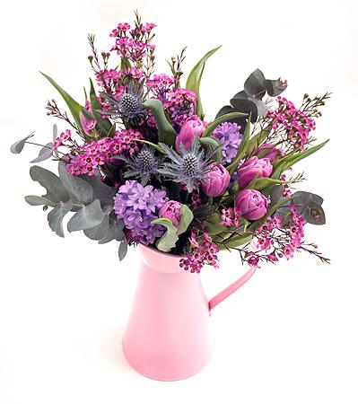 Summer Bouquet & Vase