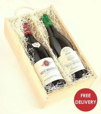 Burgundy Gift Box