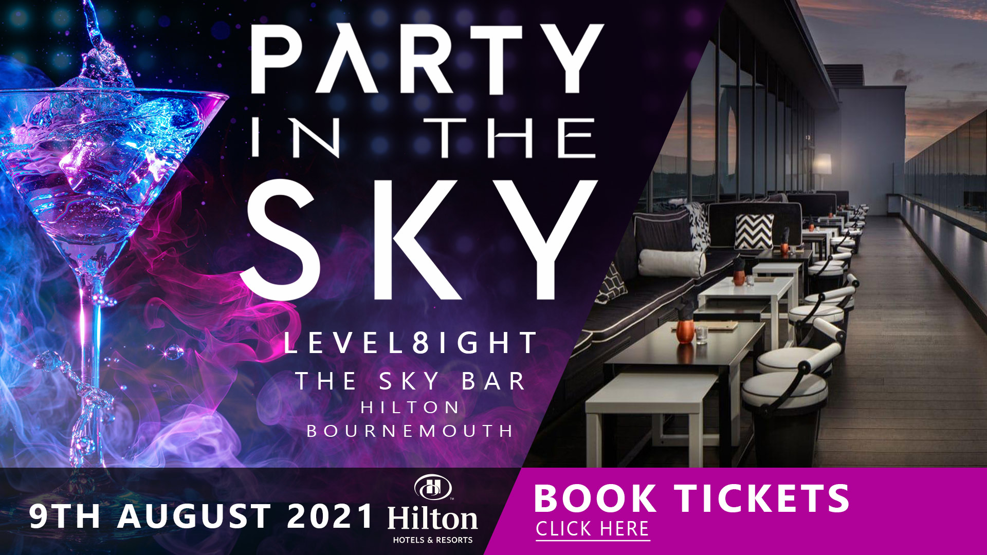 Party In The Sky // 9.8.2021