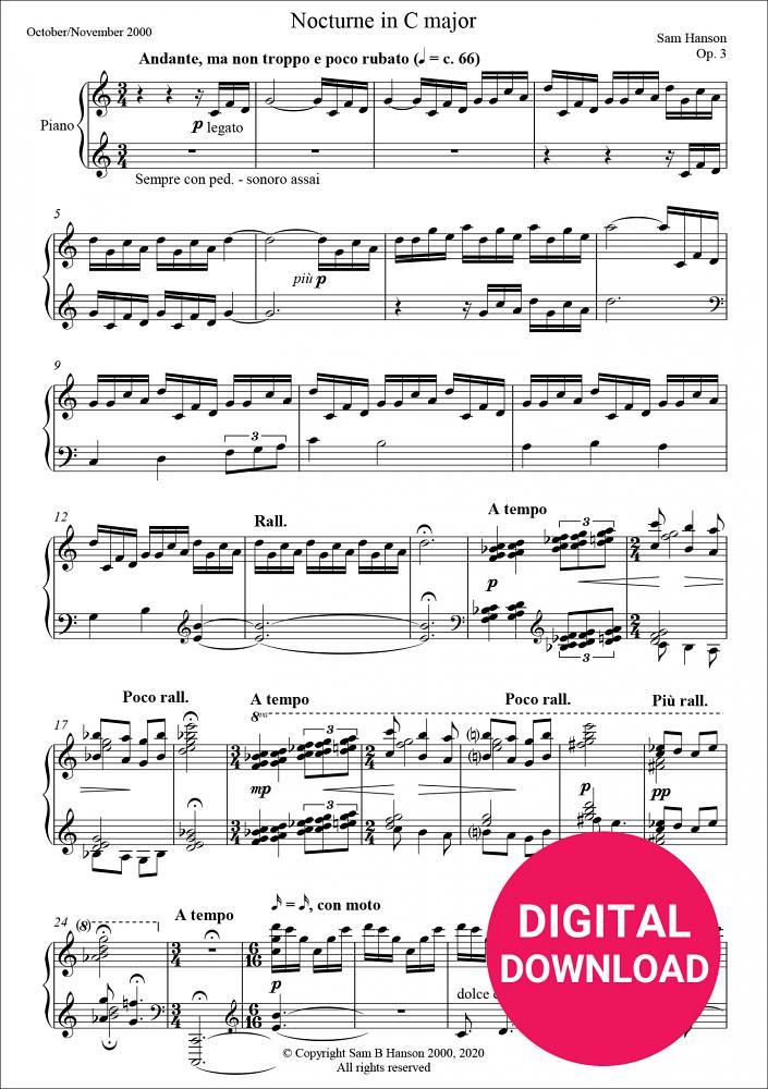Nocturne in C major