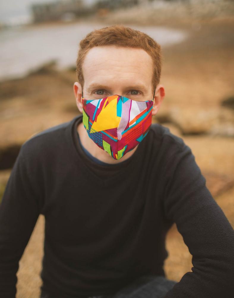 Pop-Art Face Mask