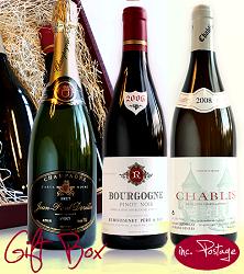 Burgundy & Champagne Boxset