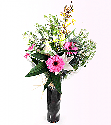 Bright Gerbera & Lily Bouquet