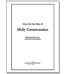 Communion Setting in Eb (Score)