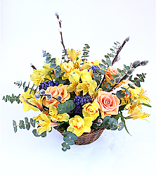 Bright Spring Basket