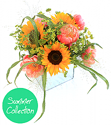 Square Sunflower Posy