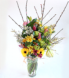 Lily and Gerbera Bouquet