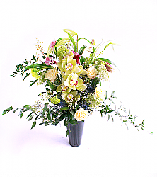 Large Orchid and Lily Bouquet